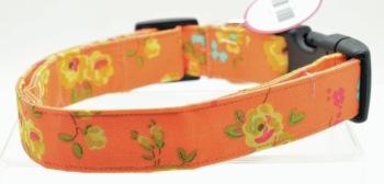 Orange Floral Collar (DO-ORNGFLRL)
