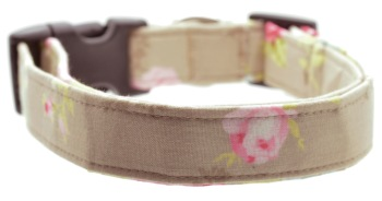 Taupe Floral Collar (DO-TAUPEFLORAL)