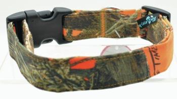 Orange Camo Collar (DO-ORNGCAMO)
