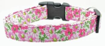 Pink Flower Garden Collar (DO-PNKFLWRGDN)