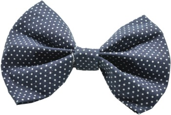 Navy Pin Dot Bow Tie (DO-NVDTBOW)
