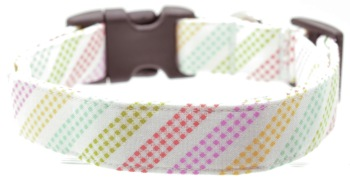 Pastel Rainbow Gingham Collar (DO-PSTLRNBWGNGHM)
