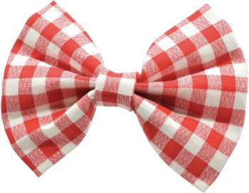 Red Gingham Bow Tie (DO-RGNGBOW)