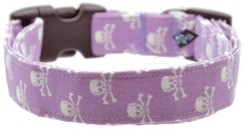 Purple Skulls Collar (DO-PRPLSKLLS)