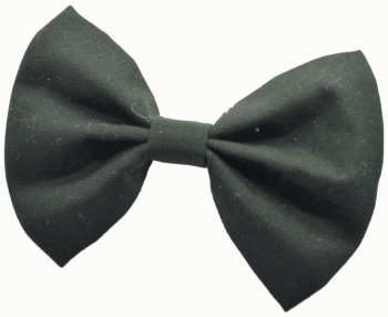Solid Black Bow Tie (DO-SLDBLBOW)