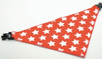 Red White Star Scarf (DO-RDWHTSTR)