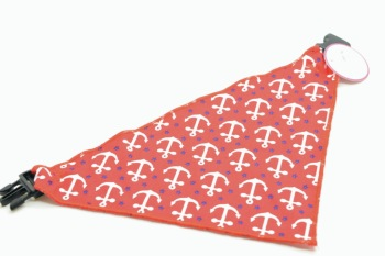 Red White Anchor Scarf (DO-RDWTANCHRSCRF)
