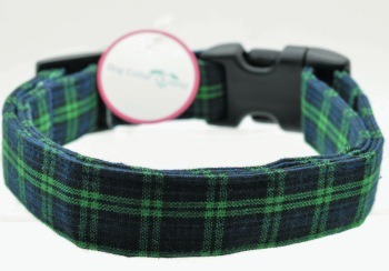 Blue Tartan Plaid Collar (DO-BLUETARTAN)