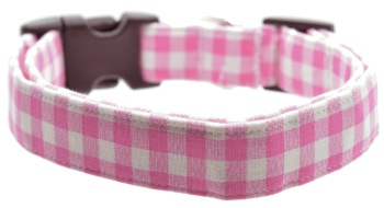 Light Pink Gingham Collar (DO-LTPNKGING)