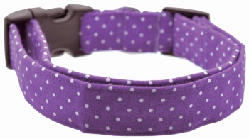 Purple Pin Dot Collar (DO-PURPLEPINDOT)